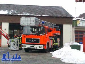 Ersatzdrehleiter-Fahrzeug in Völklingen