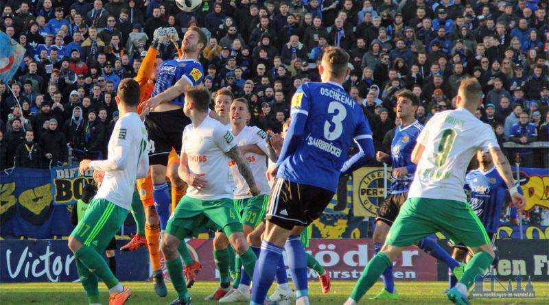 """Es ist """"das Derby"""" für die saarlänschen Fußball-Fans, wenn der FCS auf den 1. FC Homburg trifft (Foto: Hell)"""