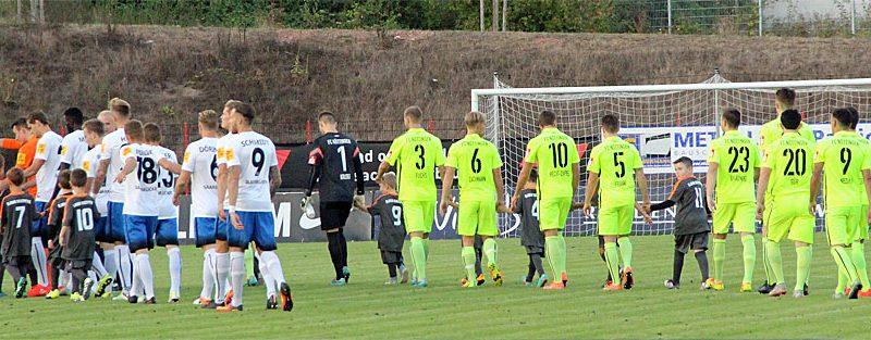 Am 10. Spieltag traf der 1. FC Saarbrücken auf den FC Nöttingen (Foto: Hell)