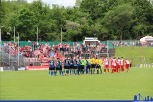 Einige Spieler in Blau-Schwarz werden in der nächsten Spielzeit ein anderes Trikot tragen (Foto: Hell)