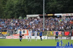 Für diesen warmen Applaus bedankten sich die Kickers bei den FCS-Fans! (Foto: Hell)