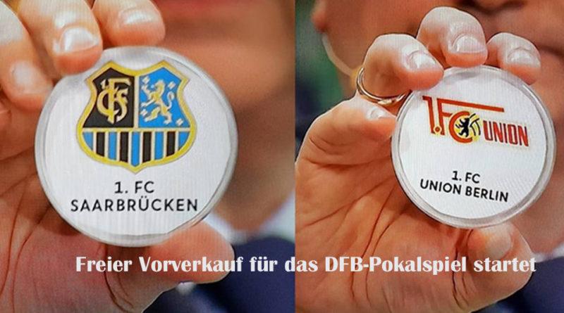 In der 1. Runde des DFB-Pokals trifft der 1. FC Saarbrücken in Völklingen auf den 1. FC Union Berlin