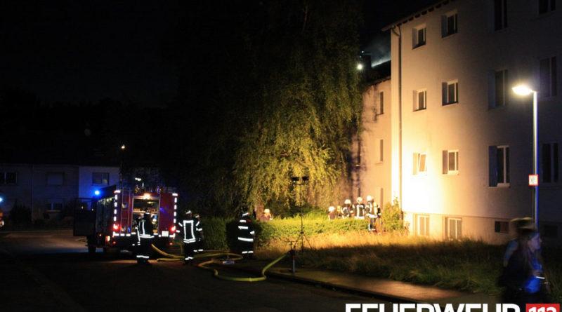 Der Gebäudekomplex soll nach den Renovierungsarbeiten für Flüchtlingshilfe genutzt werden, nach den Brandstifungen ermittelt der Staatsschutz (Foto: Feuerwehr Völklingen)