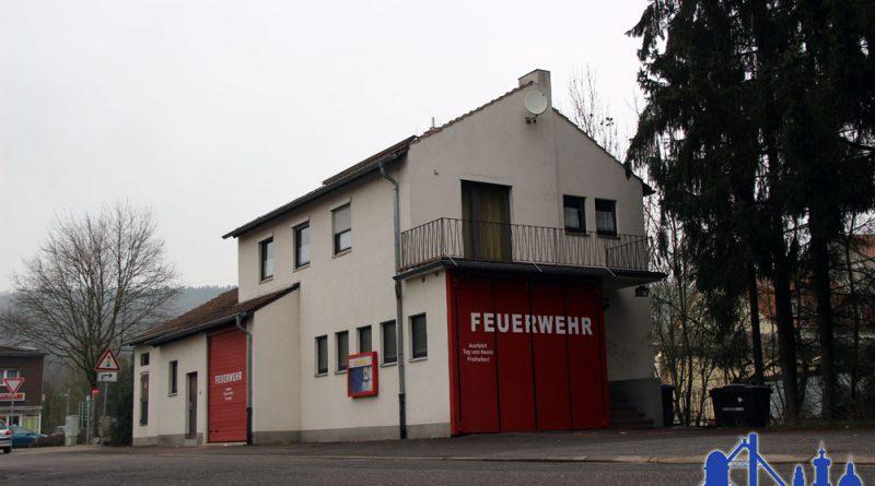 Das zweite Gerätehaus der Feuerwehr Geislautern - Es ist mit den Jahren zu klein geworden (Foto Hell/2014)