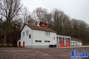 Das Gerätehaus der Feuerwehr Lauterbach
