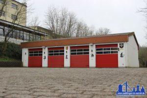 Das Feuerwehrgerätehaus in Ludweiler 2014