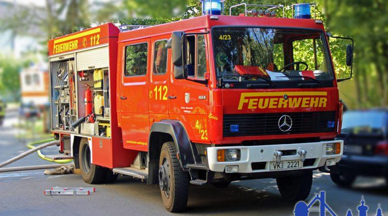 Feuerwehr im Einsatz (Symbolfoto: Hell)