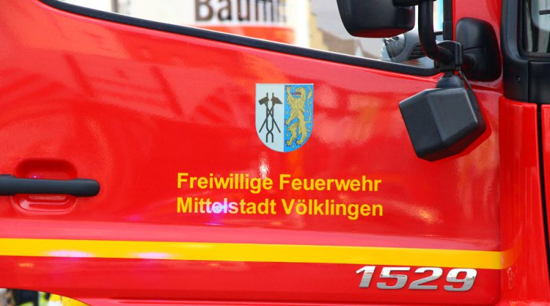 """Feuerwehr Völklingen"" (Foto: A.Hell)"