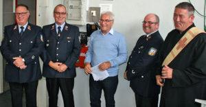 Einweihung durch Oberbürgermeister: Feuerwehrgerätehaus Wehrden wurde erweitert (Foto: Stadt VKL)