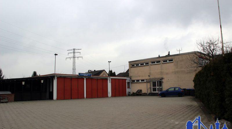 Das Gerätehaus der Feuerwehr in Wehrden