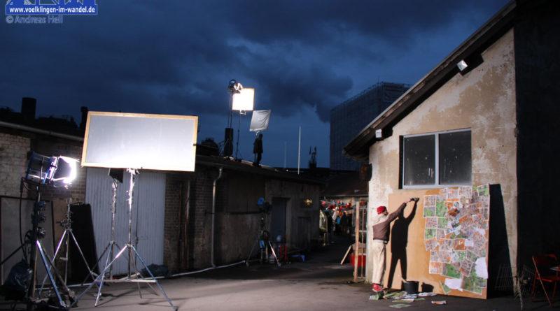 Dreharbeiten im Weltkulturerbe Völklinger Hütte (Symbolfoto: Hell)
