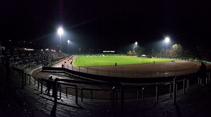 Das Flutlicht im Hermann-Neuberger-Stadion ist nicht die hellste Leuchte: Für die U19 des DFB reichtes es vergangenen November beim Vier-Länder-Turnier für einen 3:0-Sieg gegen Schweden (Foto: Hell)