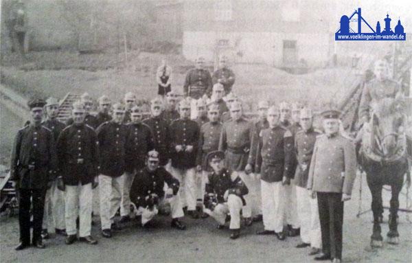 Feuerwehr Fürstenhausen 1934