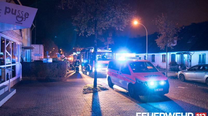 In einem Wohnhaus in der Trierer Straße kam es aufgrund eines im Innenbereich verwendeten Holzkohlegrills zu einer hohen Konzentration von Kohlenstoffmonoxid. (Foto: Feuerwehr Völklingen)