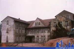 Das Verwaltungsgebäude der Grube Geislautern