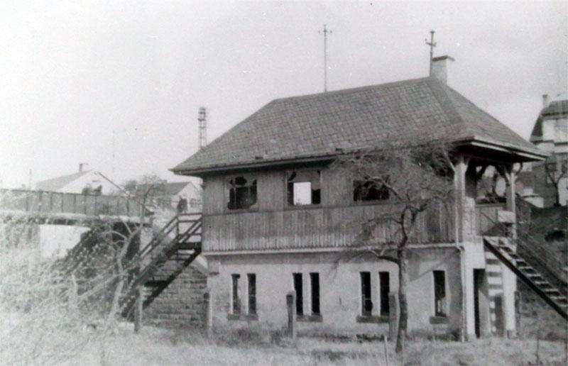 Gebäude am Haltepunkt Heidstock (ab 1936) © Stadt Völklingen