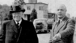 Ernst und Hermann - Quelle: Die Gründerfamilie Röchling