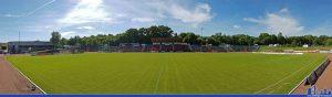 Das Hermann-Neuberger-Stadion im Mai 2016 (Foto: Hell)