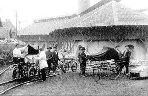 Neuer Krankentransportwagen der Hütte (Quelle: Saarstahl AG)