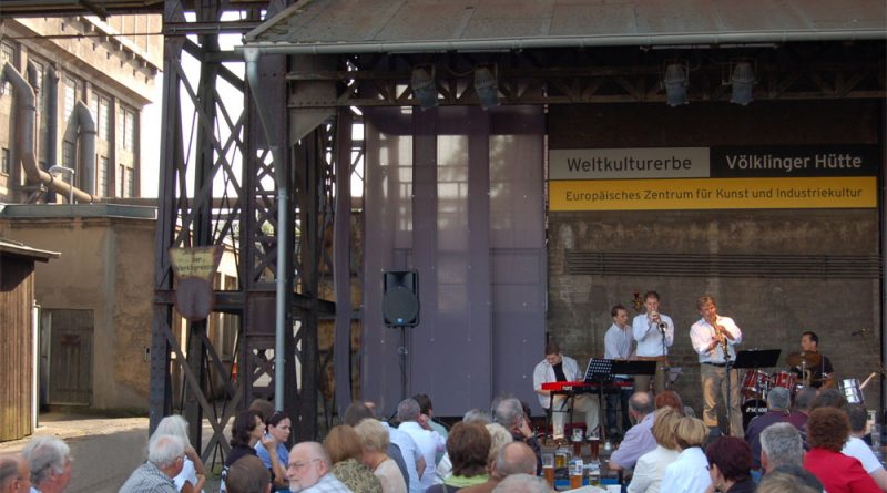 "Der ""Völklinger Hütten Jazz"" im Weltkulturerbe Völklinger Hütte Copyright: Weltkulturerbe Völklinger Hütte/Karl Heinrich Veith"