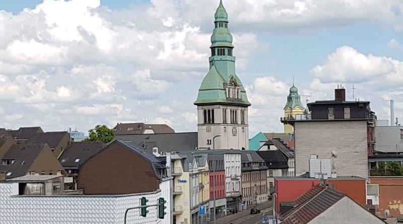 Blick auf Völklingens Innenstadt (Foto: Hell)
