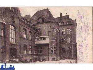 """Rückansicht des """"Josefstifts"""" 1935 (Archiv Hell)"""