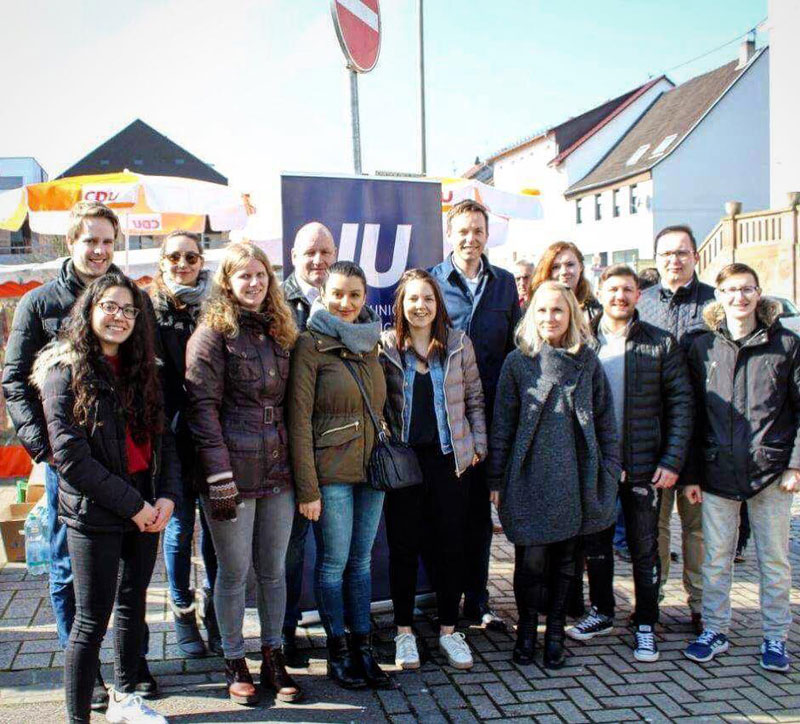 Die Junge Union Völklingen mit MP Tobias Hans (Foto: JU)