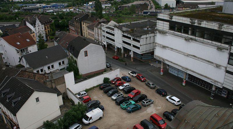Das Kaufhof-Areal (Foto: Stadt VKL)