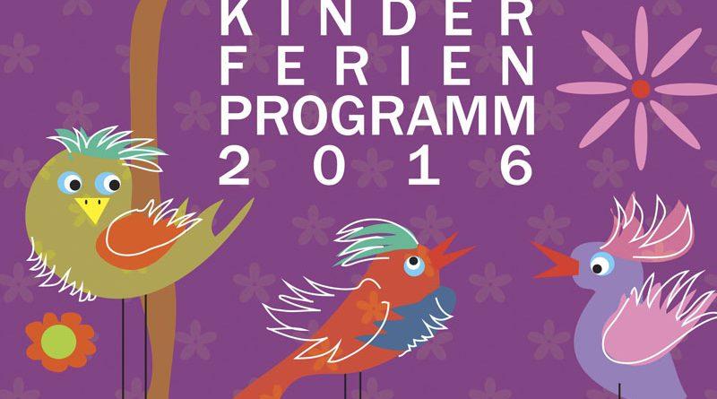 Kinderferienprogramm 2016