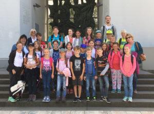 Ein Gruppenfoto als Erinnerung (Foto: Kinderschutzbund)