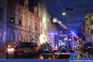 Feuerwehreinsatz in der Kreppstraße (Foto: Hell)