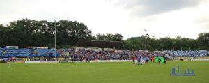 Eine tolle Kulisse im Völklinger Hermann-Neuberger-Stadion (Foto: Hell)
