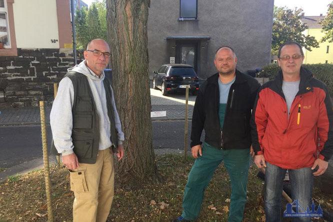 von li nach re: Thomas Kiefer, Frank Bernhofer, Arnd Ruppenthal (Foto: CDU)