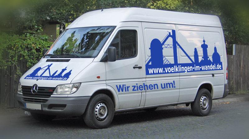 Wir ziehen um! (Grafik: Sven Storbeck - Eigenes Werk/Umgestaltet von Völklingen im Wandel unter CC BY-SA 3.0 - Lizenz)