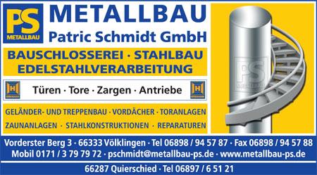 Metallbau Patric Schmidt