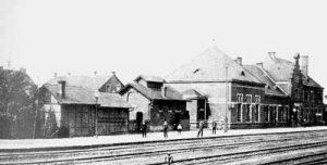 Bahnhof Luisenthal um 1912 © unbekannt