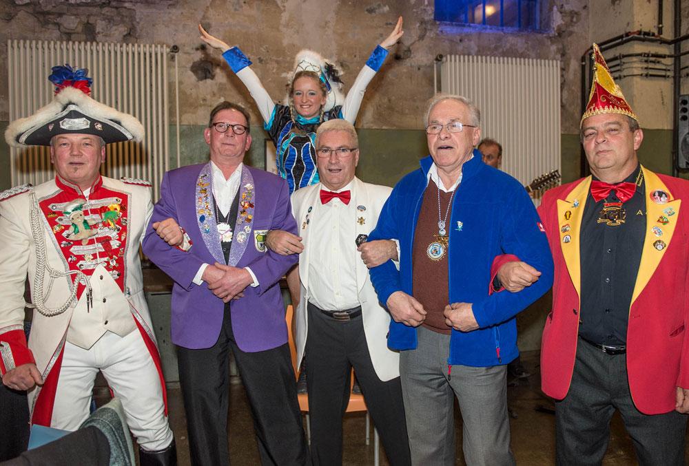 Lorig kürt Völklinger Karnevalisten des Jahres 2017 (Foto: Stadt VKL)