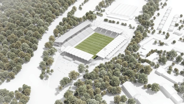 Planungsentwurf Ludwigspark im Endausbau (Quelle: gmp_schlaich_bergermann&partner)