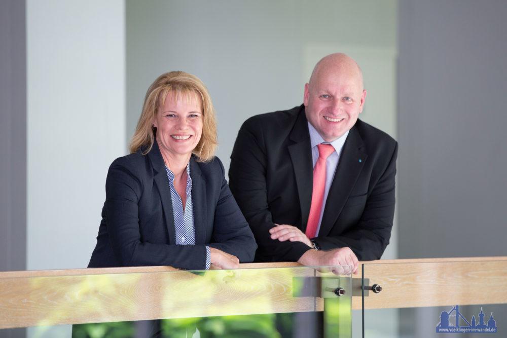 Völklingens von Oberbürgermeisterin Christiane Blatt  und Bürgermeister Christof Sellen (Foto: Stadt VKL)