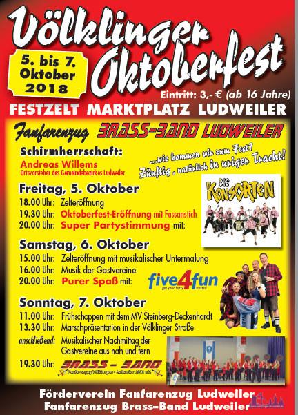 Oktoberfest Ludweiler 2018