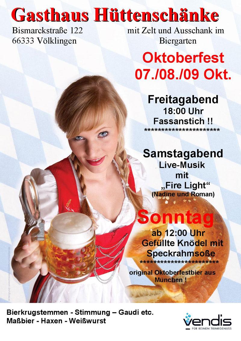 Oktoberfest der Hüttenschänke 2016