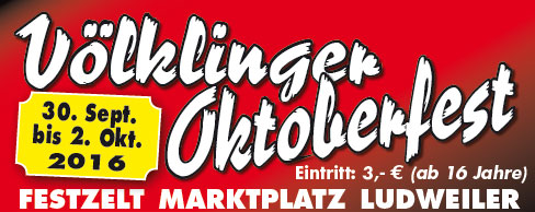 Oktoberfest 2016 in Ludweiler