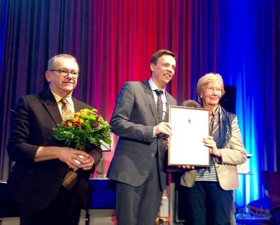 Fraktionsvorsitzender Norbert Moy, Ministerpräsident Tobias Hans, Christine Olbert (Foto: CDU)