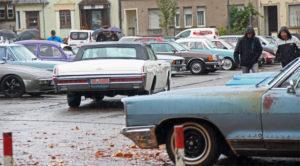 """""""Die Autos sind doch nicht nur für's Trockene!"""", sagte ein Oldtimerfreund. (Foto: Hell)"""