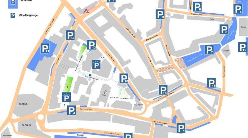 Parken in Völklingen (Grafik: Stadt VKL)