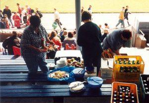 Mitarbeiter-Fußball-Tunier 1997 (Foto: Sammlung Hahn)
