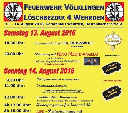 Sommerfest Feuerwehr Wehrden 2016