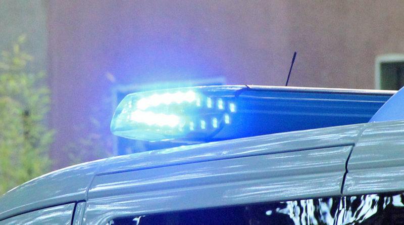 Blaulicht an einem Polizeifahrzeug (Symbolfoto: Hell)