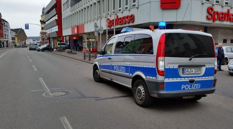 Die Völklinger Polizei im Einsatz (Symbolfoto: Hell)