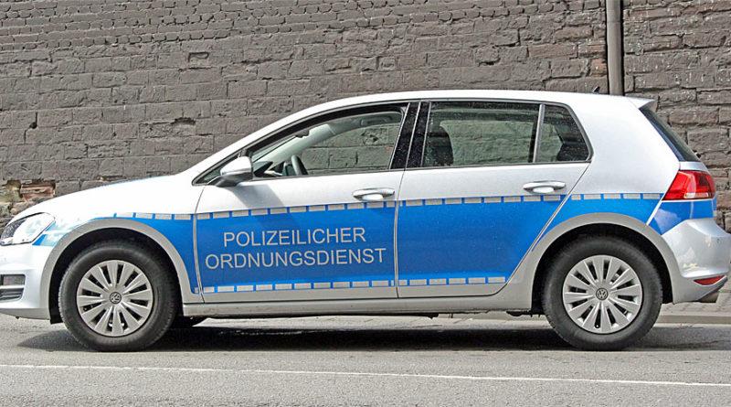 Der Polizeiliche Ordnungsdienst (POD) hat keine Sonderrechte - eine Signalanlage (Blaulicht) fehlt an den Fahrzeugen der Einheiten (Foto: Hell)